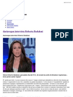 dariavegan intervista Roberta Badaloni