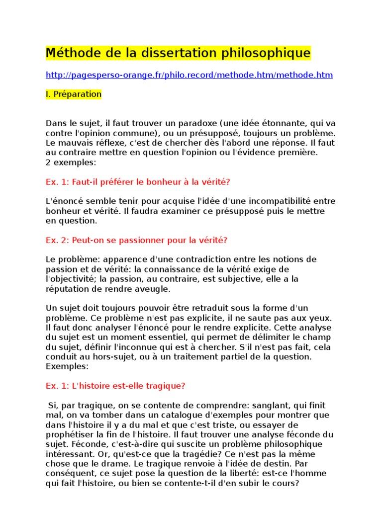 2535362 Methode De La Dissertation Que Definition Verite Qu Est Ce