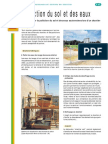 INF2007 chantier industriel (ZA) & protection du Sol et de la nappe _FR
