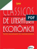 IPEA - Clássicos de Literatura Econômica - 2010