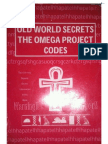 Old World Secrets the Omega Project Codes