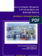 1998_Natural Disaster Mitigation in Drinking Water and Sewerage Systems