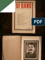 Új Hang - 1953 márciusi különkiadás Sztálin halálhírét követően