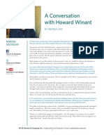 Howard Winant Interview