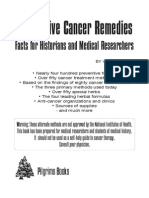 Alternative Cancer Remedies