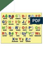 abecedario ilustrado