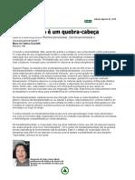 Multi_Inter_Transdiciplinaridade - Nova Escola - Edição Agosto de 1999