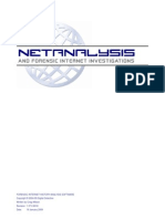 Net Analysis Manual
