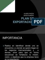 Plan de Exportacion