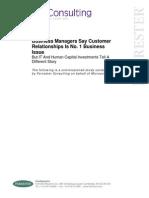 Customer Relationship IT Gap 2007
