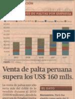 venta de palta peruana