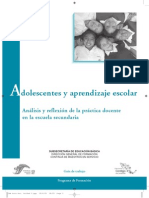 Adolecntes y Aprendizaje Escolar, Guia de Trabajo