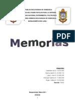 Caractersticas de Las Memorias