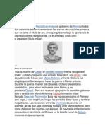 DERECHO ROMANO 4 DINASTIAS