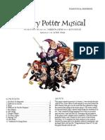 A Very Potter Musical Sheet Music
