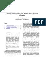 Correia Joao Comunicacao e Deliberacao Democratic A