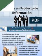 Que es un Producto de Información