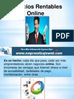 Negocios Rentables Online