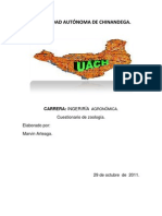 CUESTIONARIO DE ZOOLOGIA