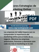 Las Mejores Estrategias de Marketing Online