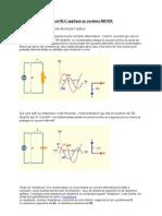 Circuit RLC Appliqué Au Système MEYER