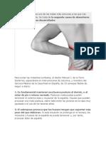 El dolor de espalda es uno de los males más comunes a los que nos enfrentamos día a día