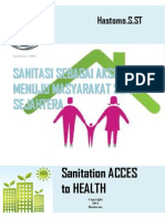 eBook SANITATION ACCES TO HEALTH