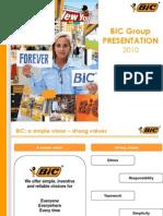 BIC Group Presentation en MAY 2010