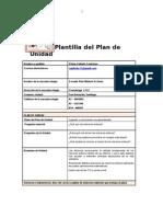 Plantilla de Plan de Unidad de Multiplicaciones