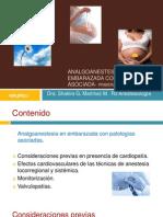 Anestesia y reanimación en embarazada con patología asociada-