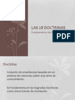 28 doctrinas