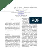 JIISIC07-Reinforcement Learning en Problemas de to Con Restricciones Final