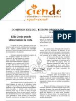 Domingo Xxx Tiempo Ordinario