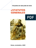 ESTATUTOS GENERALES