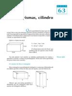 Cubo Prisma Cilindros Volumes