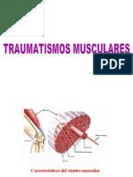 Clase Traumatismos Musculares