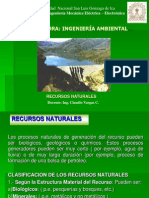 RECURSOS NATURALES 2011