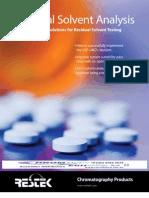 Pharma Solvent Residuals 1 12 PHFL1018