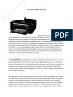 Canon Pixma MG8120 Review