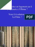 Logements Chine