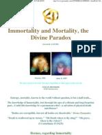 22193568 Immortality Mortality Divine Paradox