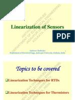 Sensor Linearization
