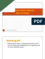 Marketing Public Relation