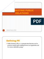 Marketing Public Relation