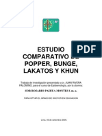 Epistemologia - Popper