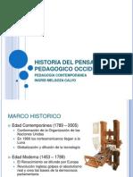 Historia Del to Pedagogico Occidental