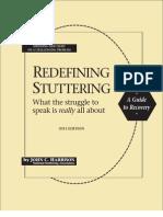 Redefining Stuttering