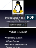 Introduction to Linux Presentation