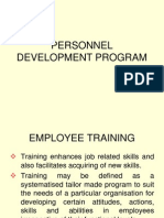 Personnel Development Program[1]
