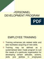 Personnel Development Program[1]